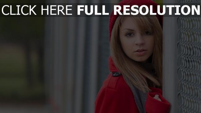 fond d'écran hd lexi belle rouge chapeau actrice