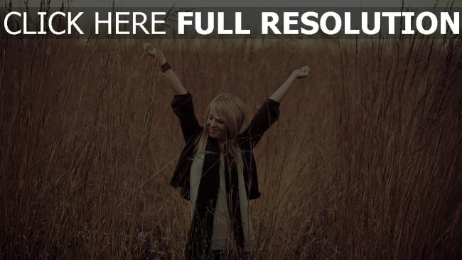 fond d'écran hd blond veste bonheur roseau