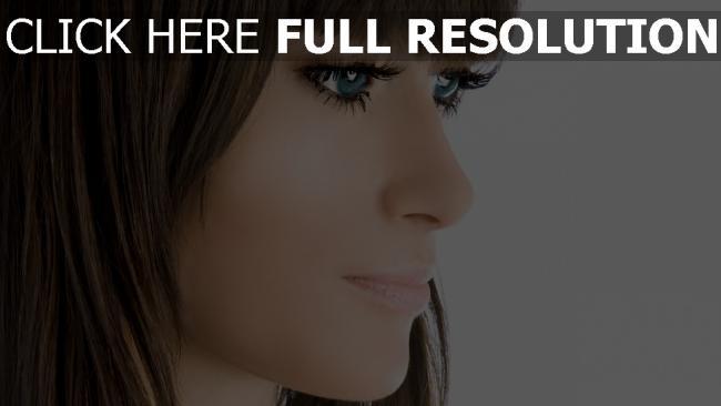 fond d'écran hd olivia wilde yeux bleus vue de côté