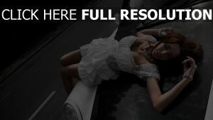 robe blanc joaillerie sensuel