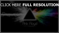 pink floyd triangle arc en ciel fumée