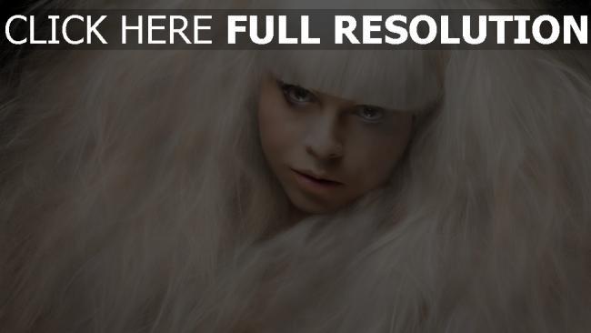fond d'écran hd ébouriffé blond visage vue de face