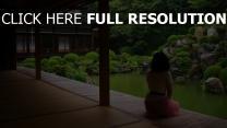 jardin de pierres lac temple brunette