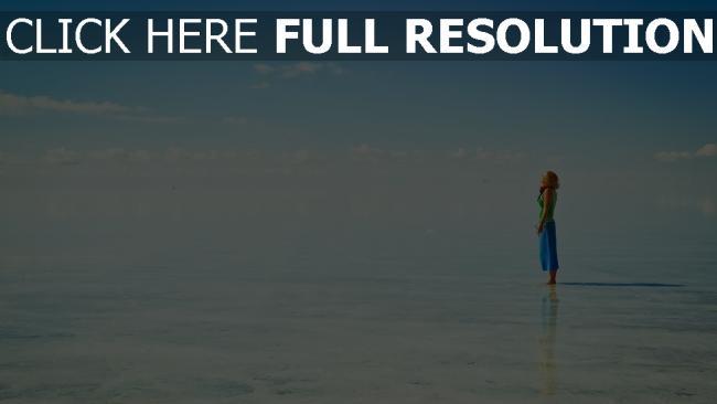 fond d'écran hd lac ciel roux paysage