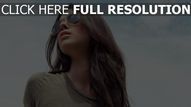 fond d'écran hd visage lunettes cheveux bruns
