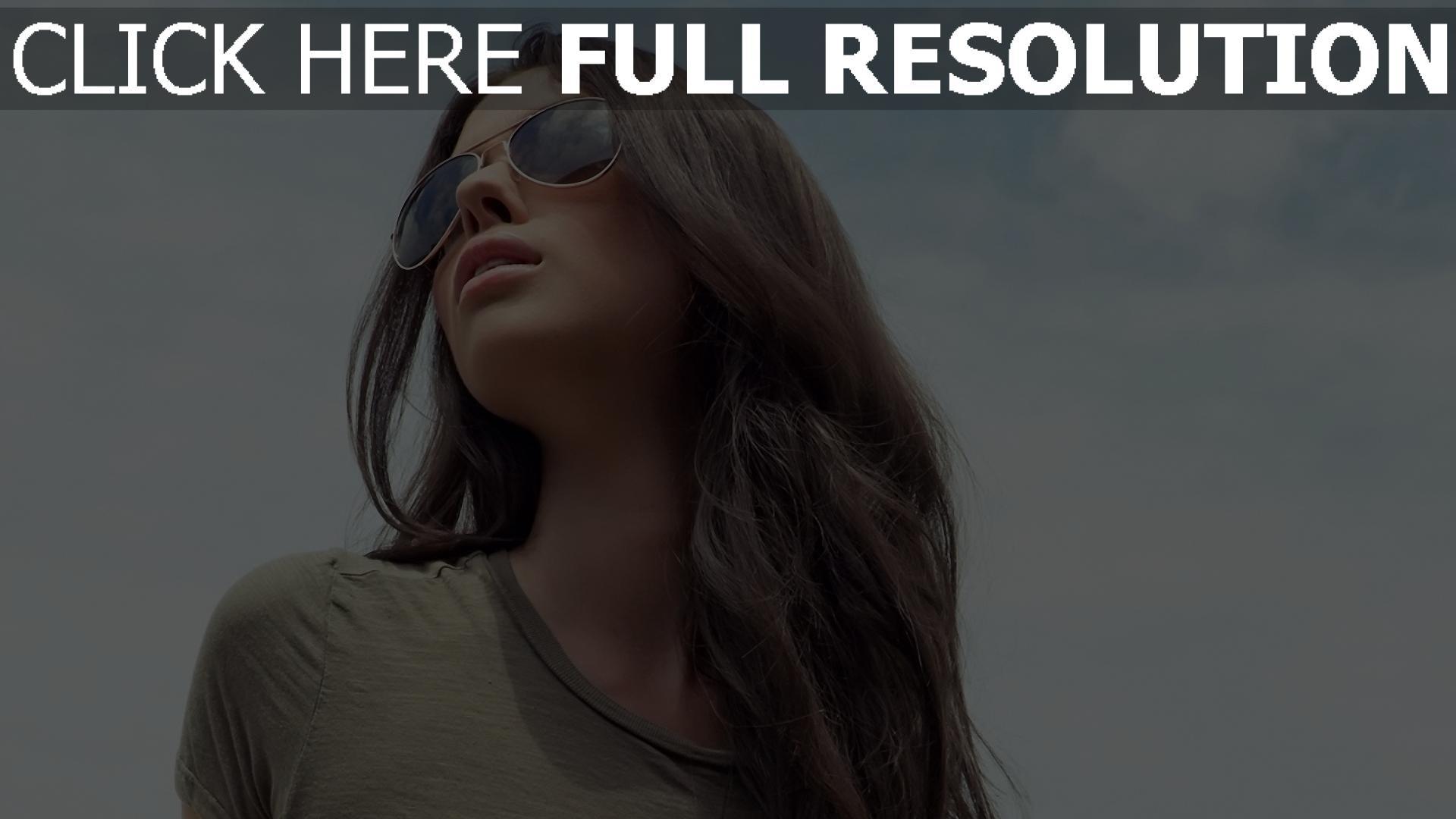 fond d'écran 1920x1080 visage lunettes cheveux bruns