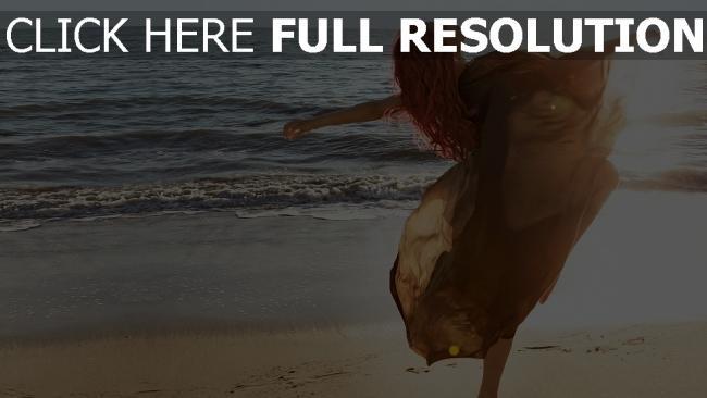 fond d'écran hd rihanna geste côte lever du soleil