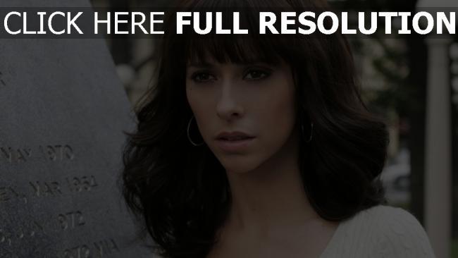 fond d'écran hd jennifer love hewitt regard brunette actrice