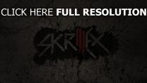 skrillex inscription graffiti