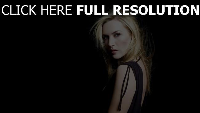 fond d'écran hd kate winslet blond actrice regard