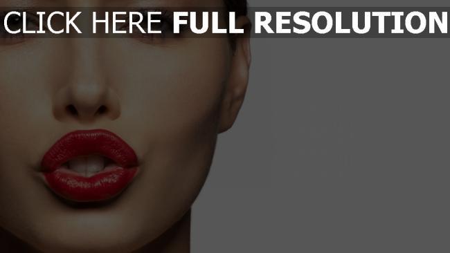 fond d'écran hd rouge à lèvres gros plan sensuel
