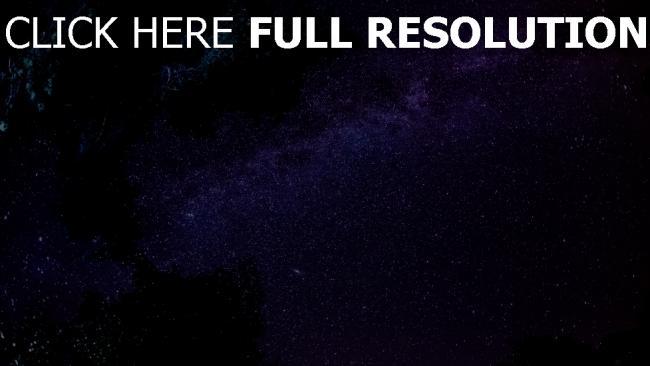 fond d'écran hd ciel étoilé