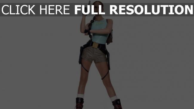 fond d'écran hd lucy clarkson pistolet mannequin