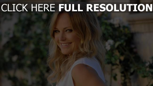 fond d'écran hd malin akerman sourire blond actrice
