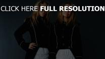mary-kate olsen ashley olsen émotion blond actrice