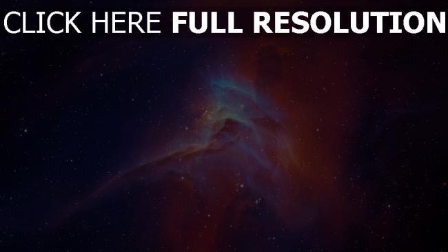 fond d'écran hd nébuleuse espace profond