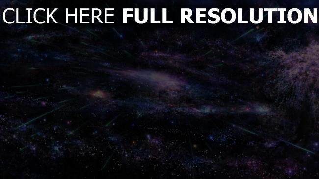 fond d'écran hd espace profond hyperespace pourpre