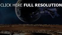 satellite modèle terre