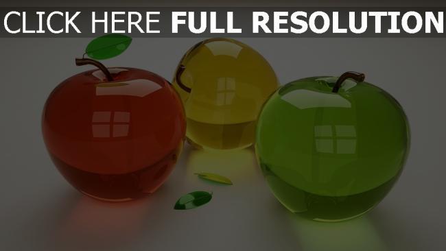 fond d'écran hd fruit réflexion multicolore