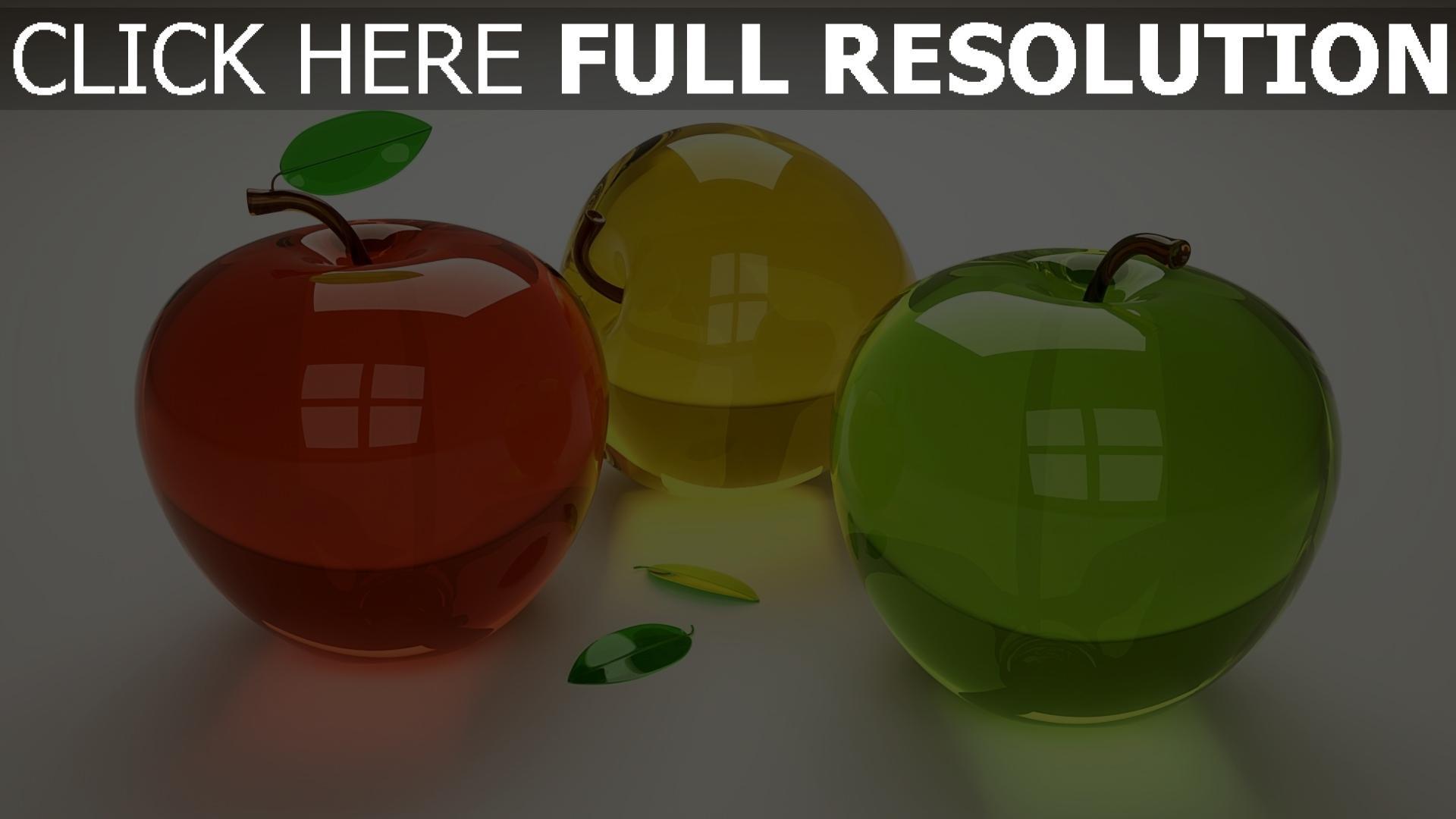 fond d'écran 1920x1080 fruit réflexion multicolore