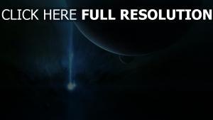 flux energie fonce planète