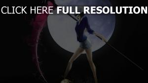 faux lune