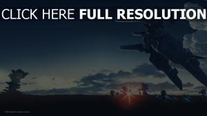 robot vol équipe