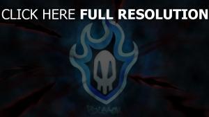 bleach flamme logo fumée