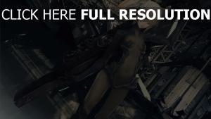 fusil de sniper blond pigtails