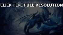 dragon caverne enchanteresse fantôme