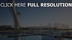 hyatt capital gate abou dabi tour hôtel