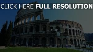 colisée vue de face Italie