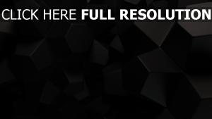 hexaèdre figure foncé