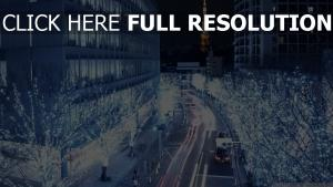 mégalopole tour tokyo rétro-éclairage