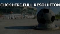 donbass arena stade sculpture ukraine