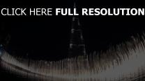 burj khalifa tour nuit fontaine