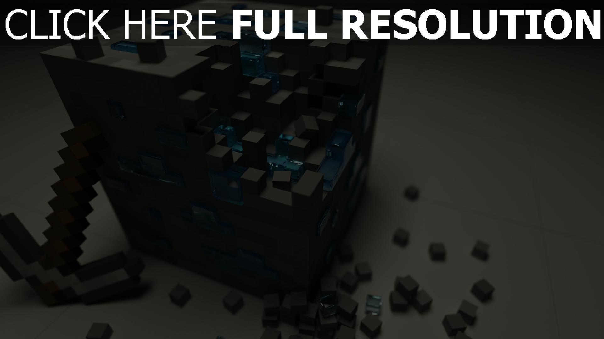 fond d'écran 1920x1080 cube grand mess