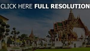 palais royal bangkok vue de côté