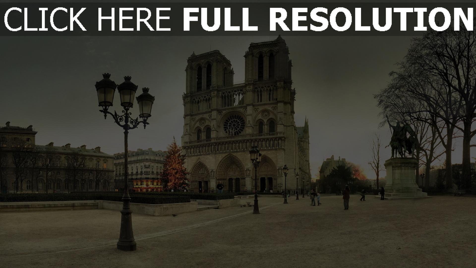 Télécharger 1920x1080 Full Hd Fond Décran Notre Dame De Paris
