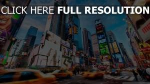 new york rue gratte-ciel