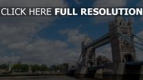 tower bridge ciel londres