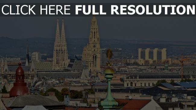 fond d'écran hd saint-ètienne cathédrale vue d'en haut vienne