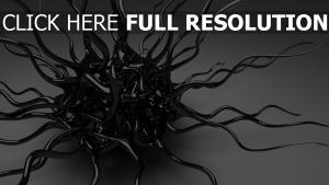 tentacules surface brillante étranger
