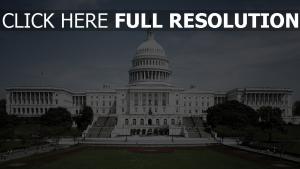 maison-blanche vue de face états-unis