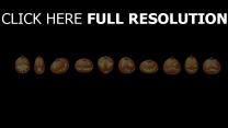 citrouille-lanterne smiley halloween