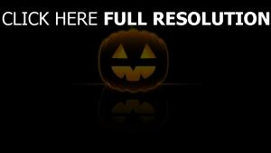 citrouille-lanterne réflexion halloween