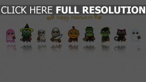 smiley monstre halloween