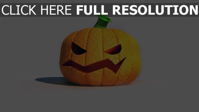 fond d'écran hd citrouille-lanterne orange halloween