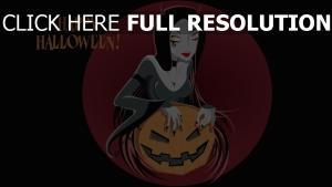 démone charmant robe halloween