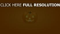 citrouille-lanterne illuminée halloween